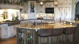 rustic white kitchens. White Kitchen Cabinets Rustic Whitewash Kitchens B