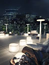 rooftop lighting. Outdoor Lighting From Prandina. Find Out More At MorlenSinoway.com Or By Calling 312.432 Rooftop