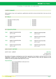 Seek Com Au Resume Resumewizard Simple Resume Template Seek Com Au