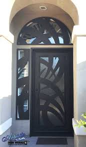 iron and glass front doors wrought iron and glass front door with arched and side window iron and glass front doors
