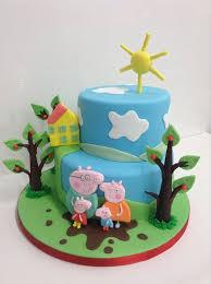 2 Tier Peppa Pig Truly Scrumptious Designer Cakes Scotland