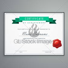 Award Paper Template Best Clean Certificate Design Template Award Diploma Background GL