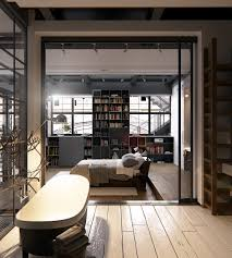 Home Designs: Cozy Chic Bedroom New York City Loft - Dream Loft