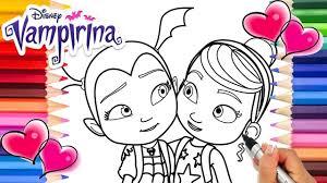 Cartoon disney junior crafts & activities womanmate. Vampirina And Poppy Coloring Book Disney Vampirina Coloring Pages Ve Coloring Books Coloring Pages Printable Coloring Pages