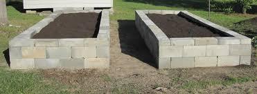 Small Picture Cinder Block Garden Bed Gardening Ideas