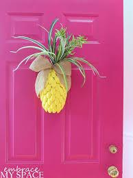 front door decorDIY Pineapple for Your Front Door  Hometalk