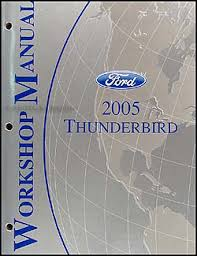2005 ford thunderbird wiring diagram manual original related items