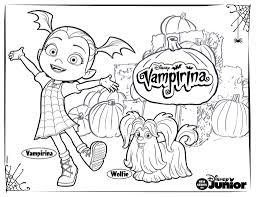 Vampirina Coloring Pages For Your Little One Disney Family