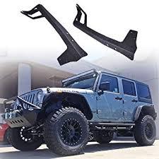ohmu 2007 2018 jeep jk wrangler light bar mounting brackets for 2007 2018 jeep