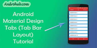 Android Tabs Android Material Design Tabs Using Tablayout Androhubandrohub