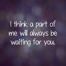 waiting for you sad instagram love quote