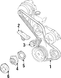 parts com® chevrolet venture belts pulleys oem parts 2002 chevrolet venture value v6 3 4 liter gas belts pulleys
