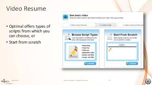 Video Resume Website - Resume Ideas