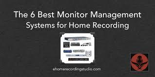 6 систем управления мониторами для домашних студий ...