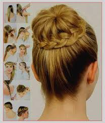 Coiffure Cheveux Attachés Facile Inspirant Coiffure Mariage