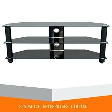 glass tv table china low stand glass tv table