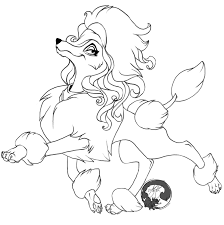 Small Picture Poodle Coloring Pages paginonebiz