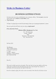 Semi Block Style Business Letter Format - April.onthemarch.co