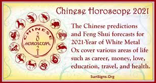 Natives who are single will find their love life this year and even get on the other hand, married oxen may welcome a new member of the family. Chinese Horoscope 2021 Year Of The White Metal Ox Sunsigns Org