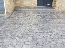 Patterned Concrete Inspiration Pattern Imprinted Concrete Creative Driveway Solutions