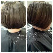Swing Bob Hair Style short long layered stacked bob haircut by melissa clarke aveda 6939 by stevesalt.us