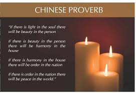 chinese proverb with images image about the soul