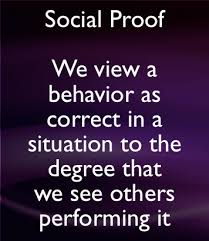 Image result for social proof
