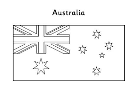 Australian Flag Coloring Page Free   Flags Coloring pages of ...