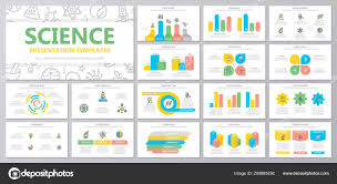 Advertising Charts And Graphs Set Of Science And Research Elements For Multipurpose