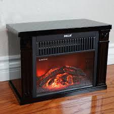 mini electric fireplace heater. Infrared Tabletop Space Heater Flame Effect Mini Electric Fireplace Portable U