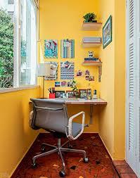 tiny home office. Small Home Office - With Narrow Desk Tiny