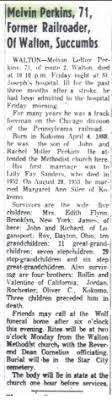 Melvin LeRoy Perkins (1888-1959) - Find A Grave Memorial