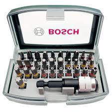 <b>Набор бит BOSCH</b> 25 мм с магнитным держателем <b>32 шт</b> купить ...