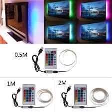 <b>DC 5V USB</b> 30 <b>LED</b>/m 5050 RGB Non Waterproof Flexible <b>LED</b> Strip ...
