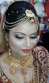 bridal makeup the beauty art specialist in bridal makeup photos shivalik nagar