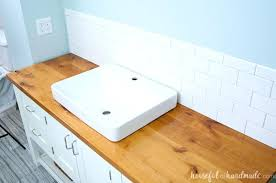 bathroom alluring best ideas on stone spray at from diy wood countertops home improvement license nj how to make wood bathroom diy countertops