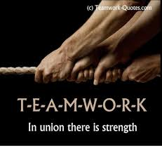 Quotes About Work Mesmerizing cTeamwork Quotes C TEAMmWORK in Union There Is Strength