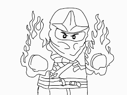 Small Picture Image for Ninjago Coloring Pages Kai pictures Pinterest Craft