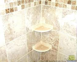 ceramic tile shower corner shelf shower shelves for tile corner bathroom corner tiles small corner shower