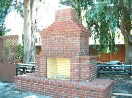 outdoor brick fireplace idea brick outdoor fireplace for outdoor brick fireplace an outdoor brick fireplace at