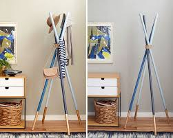 Diy Coat Racks 100 DIY Coat Rack Ideas that are Easy and Fun 2