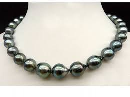 10 to 12 mm baroque tahitian pearl necklace