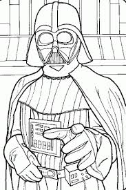 Small Picture Darth Vader Star Wars Coloring printable Brody Birthday