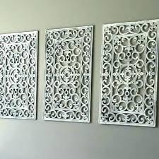 metal circle and square 12x12 wall art