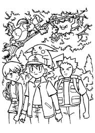 Small Picture Ash Ketchum And Friends Coloring Page Inspirations for classroom