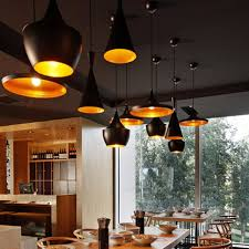 restaurant pendant lighting. Interior Design Restaurant Pendant Lighting England Tom Dixon Beat Musical Instrument Hanging Perfect Glossy A