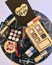 here s a whole lot of makeup i haven t had the opportunity to photograph much at all the placemat was one dollar fifty from kmart what a