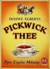 There's no better way to start the having a bag of great coffee beans turning in the grinder can really change the course of your day. Douwe Egberts Pickwick Thee Dutch Advertising Tea Poster C 1954 Vintage Advertising Posters Vintage Advertisements Tea Art