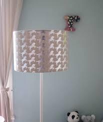 Silver Unicorn Lampshade By Emma Purdie Notonthehighstreetcom