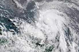 Deadly Tropical Storm Elsa swirls ...